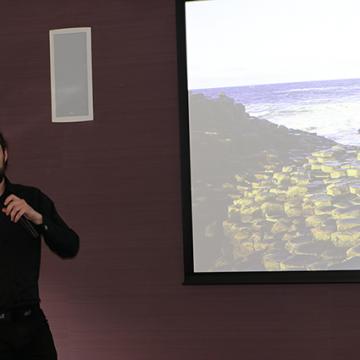 Mark McCann speaking at SHINE conference