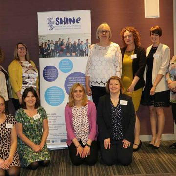 Welsh and Scottish collaborators at SHINE conference