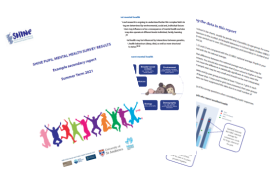 SHINE MH Survey included by Scottish Government in the new Whole school approach to MHWB framework document