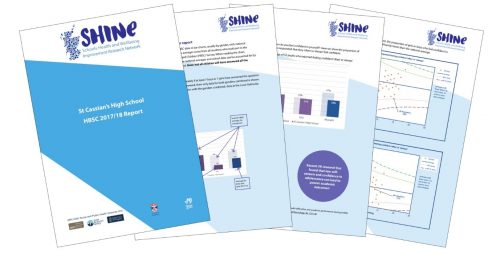 An illustration of SHINE reports